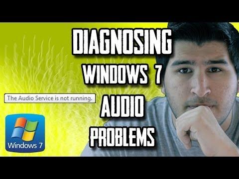 Fix Windows 7 Audio: Diagnosing Problems [CLICK CC BUTTON  FOR SUBTITLES]