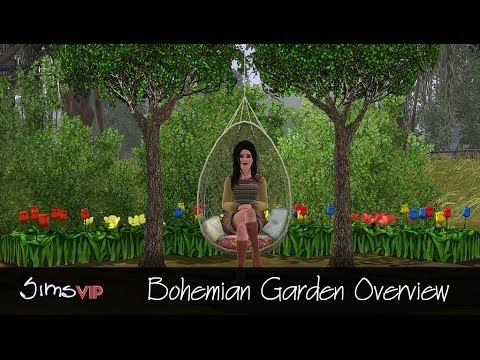 The Sims 3 Store: Bohemian Garden Overview