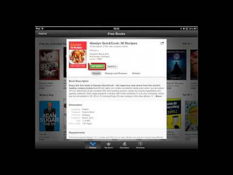 How to Download and Add FREE eBooks on iPad and iPhone