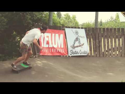 SkaterCoaster 2016 Pumptrack Skate / Longboard