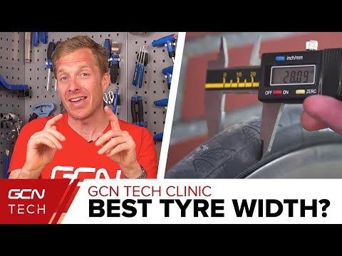 Best Tyre Width For A Road Bike? | GCN Tech Clinic