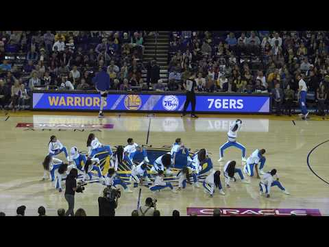 Warriors Jr Jam Squad 2017-2018 | Warriors vs 76ers | Ball