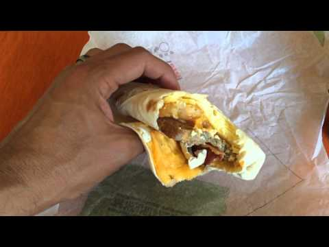 Burger King's EGG-NORMOUS BURRITO Review