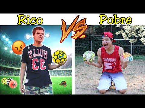 RICO VS POBRE NA ESCOLA #44 - RICO PERDEU NO FUTEBOL !!