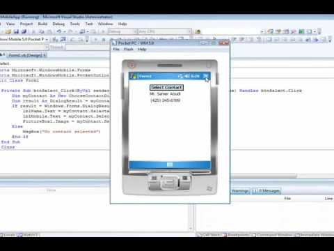 ITEC 220 -First Mobile App in VB Part 2 of 2