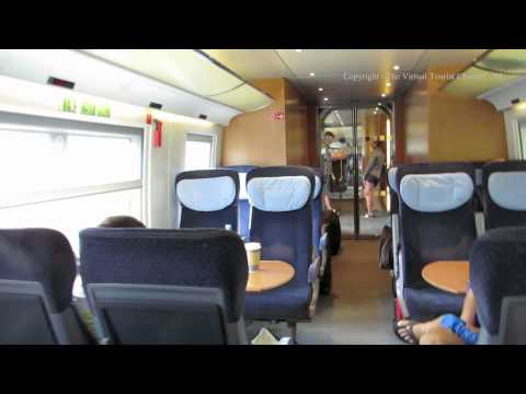 Traveling from Dusseldorf Germany to Amsterdam Netherlands on ICE - Intercity Express 3