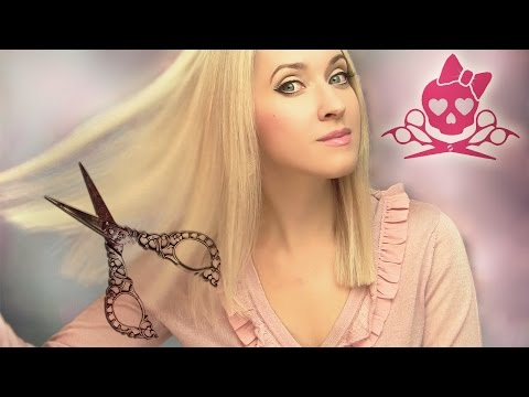 ✄ How to cut your own hair ✄ Trim split ends ✄