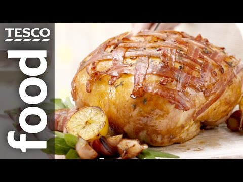 How to Cook a Crown of Turkey | Tesco Food