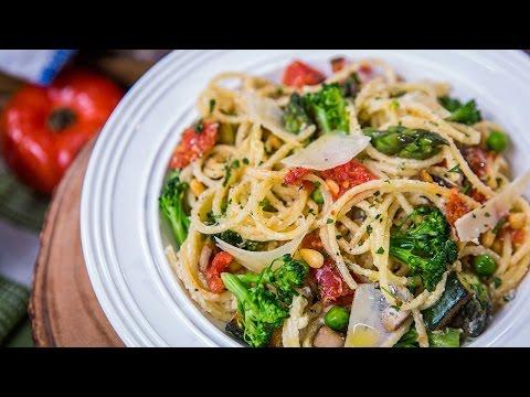 Home & Family - Christina Cooks Pasta Primavera