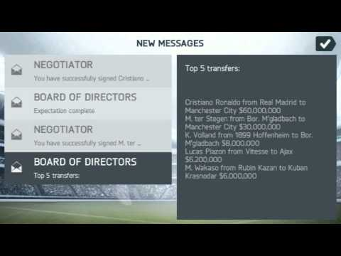 HOW TO BUY OR NEGOTIATE PLAYER IN MANAGER MODE OF FIFA 14 ANDROID GAMING TUTORIAL HD
