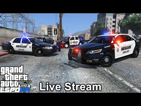 GTA 5 LSPDFR Police Mod 207   Newark New Jersey Police
