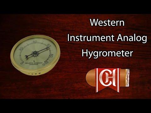 Western Instrument Analog Hygrometer