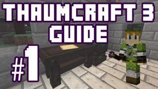 ☆ Thaumium Scoop and Thaumium Grafter - Thaumcraft 3 Guide