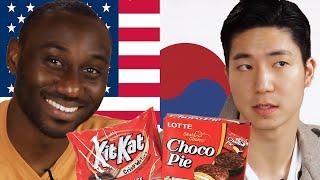 Download Americans & Koreans Swap Snacks Video