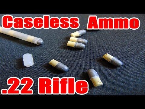 Daisy-Heddon V/L Rifle: Caseless Ammo .22