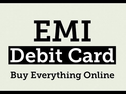 Get EMI on Debit Card, Purchage Online Part 1