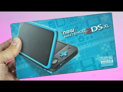 New Nintendo 2DS XL Unboxing & First Impressions | It Has ARRIVED!!!