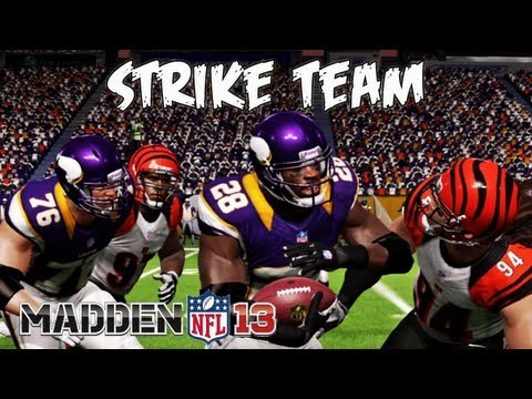 Madden 13 - Adrian Peterson Just A Beast Strike Team Incoming! Madden - Online Ranked Match