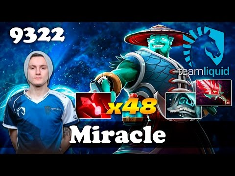 Miracle Storm Spirit [x48 Bloodstone] | 9322 MMR Dota 2