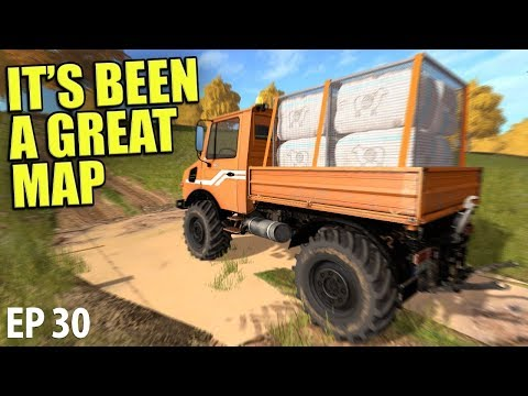 IT'S BEEN A GREAT MAP | Farming Simulator 17 | The Valley The Old Farm - Episode 30