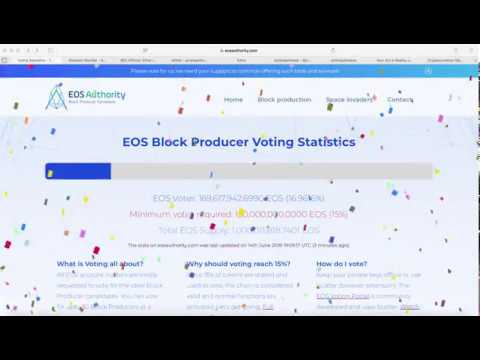 EOS Go LIVE Blockchain Activated | $EOS Airdrop Edna Yair | Ethereum $ETH NOT A Security