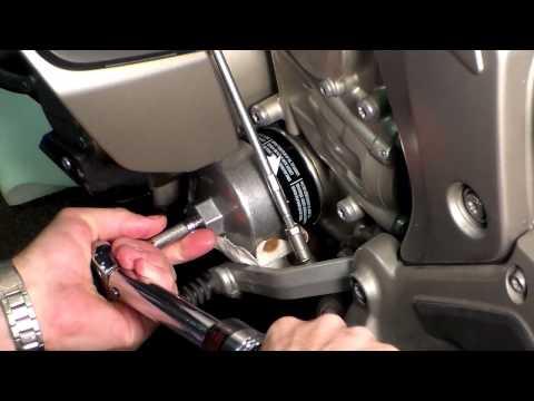 BMW K1600 Oil Change DIY