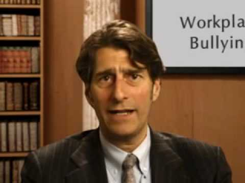 Workplace Bullying:  It Can't Be Legal, Can It?