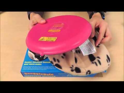 SnuggleSafe Microwave Heatpad: How SnuggleSafe Heatpad can keep your pets warm