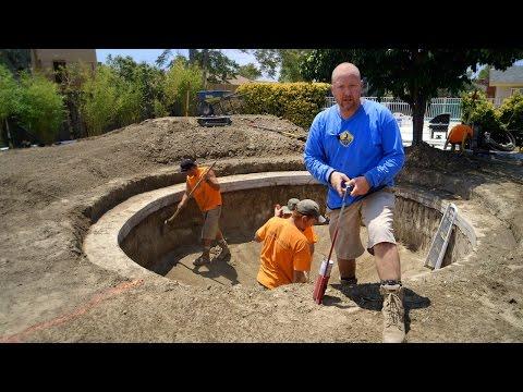 DIY Koi Pond Construction | Layout, Pond Design & Orientation - Part 8
