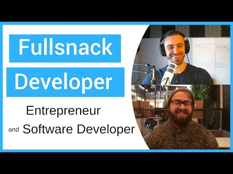 Interviewing a Full Stack Web Developer and Entrepreneur - CodingWithMitch Podcast #4