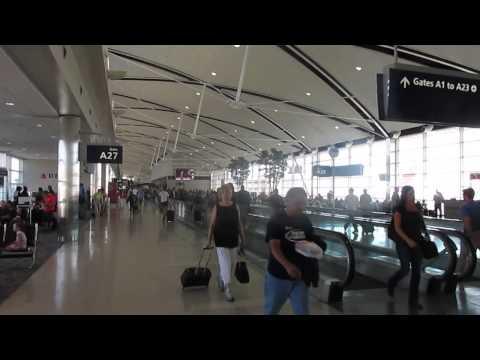 Walking Around the McNamara Terminal - Detroit Metro AIrport (DTW)