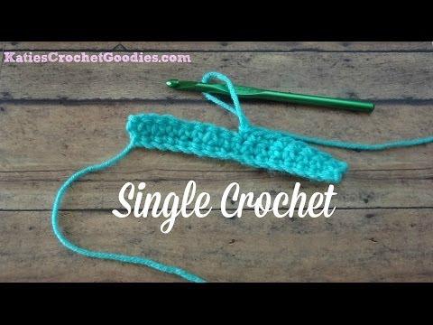 Single Crochet Stitch - Learn to Crochet Video #5