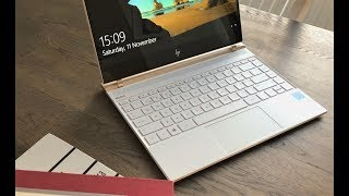New Ceramic White HP Spectre 13 Unboxing and First Look!