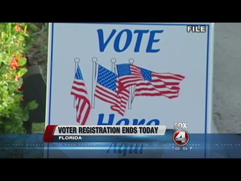 Florida Voter Registration Extended