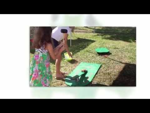 DIY Carnival Game -- Leap Frog Carnival Game