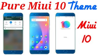 How To Install MIUI 10 on Redmi note 4    Miui 10 theme For Xiaomi