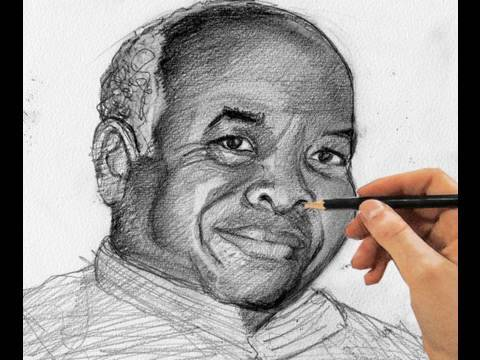 How to Learn Portrait Drawing in Less Than Five Minutes
