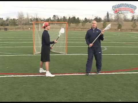 Work on Your Stick Handling with Former Lacrosse Pro, Gary Gait!
