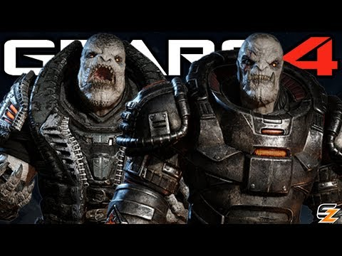 Gears of War 4 - New Locust Characters Vold RAAM & Uzil Sraak CONFIRMED!