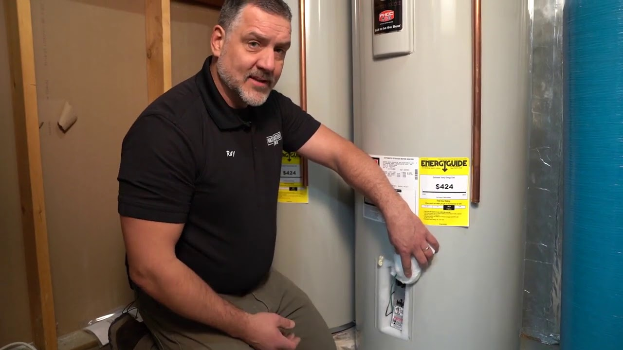 Annual Maintenance on a Bradford White Electric Water Heater- Water Heaters Now