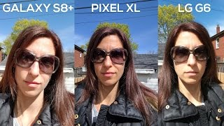 Samsung Galaxy S8 vs LG G6 vs Google Pixel - Camera Comparison!