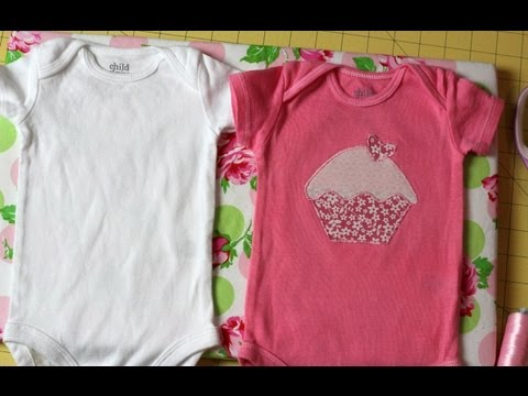 How to Make a Custom Onesie for Baby- DIY Tutorial