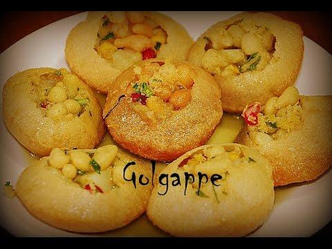 How to make Golgappa Puri | Pani Puri with Rava | Puchka gupchup Recipe