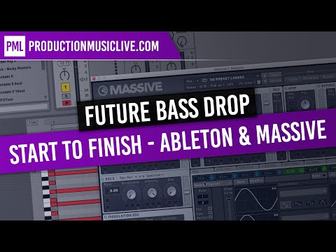 Future Bass Drop From Start To Finish - Ableton Live, Massive, Beginners (San Holo, Louis The Child)