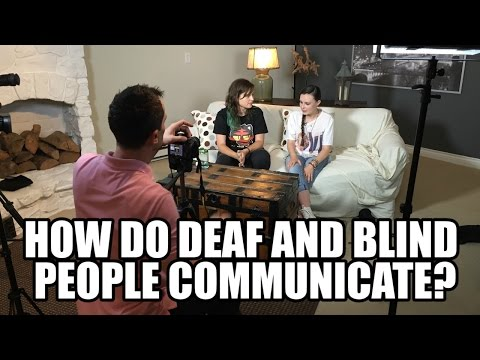 How Do Deaf And Blind People Communicate?