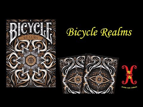 Bicycle Realms Playing Card Review