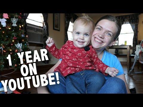 Celebrating ONE Year on YouTube!!!