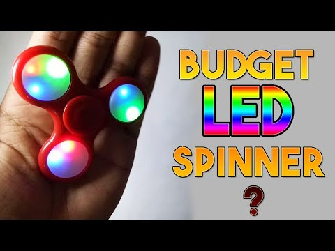 300 Rs BEST LED Fidget Spinner in India | Which One Should You Buy?