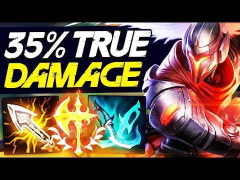 INFINITY EDGE NOW GIVES YASUO 35% TRUE DAMAGE!! YASUO IS NOW GOD TIER IN MID LANE!!!