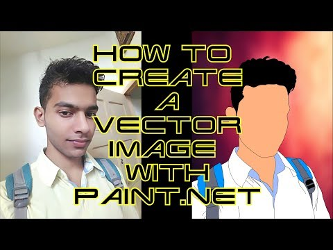 CREATE CARTOON OF YOURSELF USING PAINT.NET